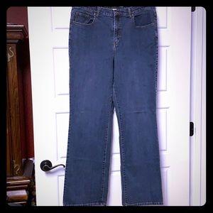 EUC Dark wash boot cut jeans, sz 18 Tall